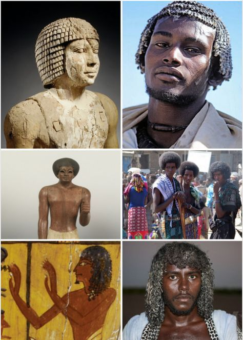 Hair Texture in Ancient Egypt and Today