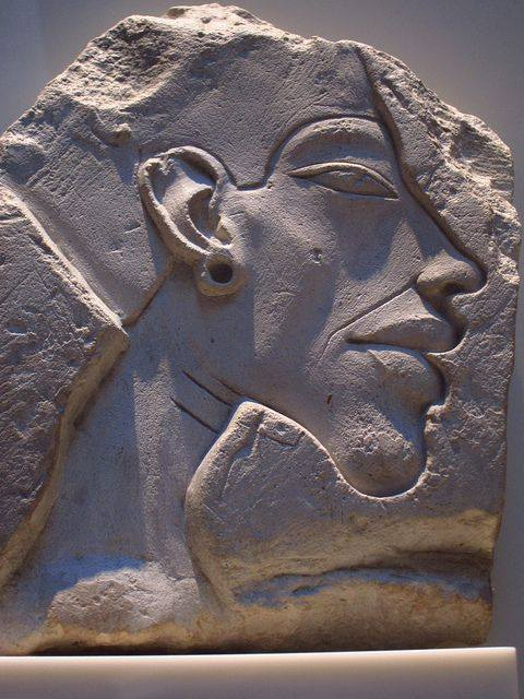 Relief Portrait of Akhenaten – Neues Museum, Berlin