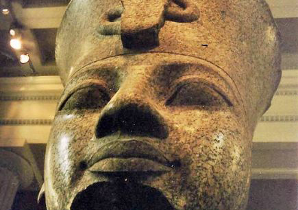 Queen Tiye and husband Amenhotep III