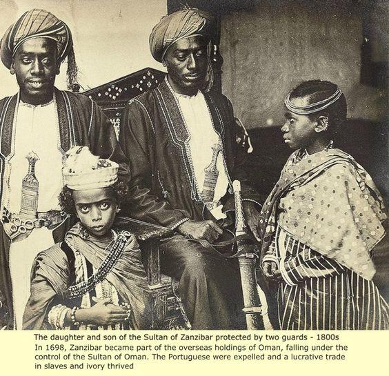 Sultan of Zanzibar -Omani Empire – 1800s
