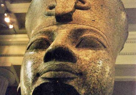 Queen Tiye and husband Amenhotep III