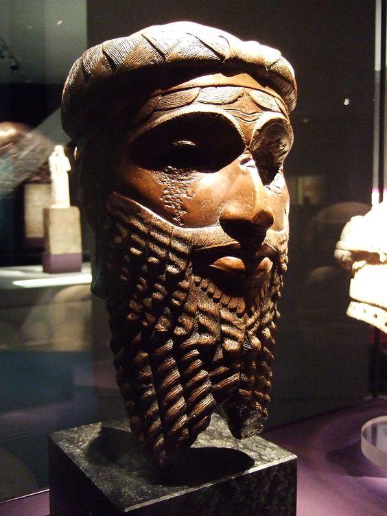 Head of Akkadian king – either Sargon or Naramsin.